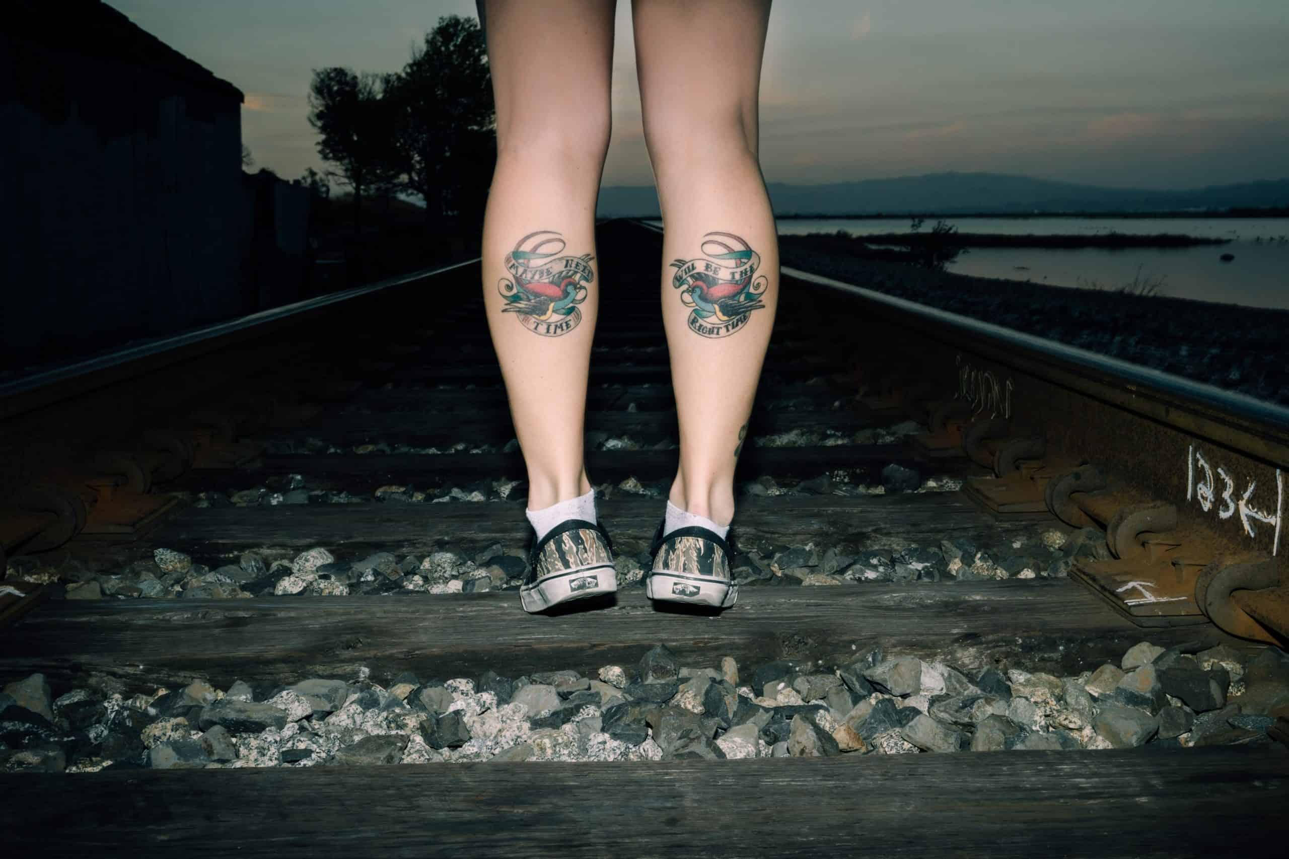 Top 4 Inks Used For Making Leg Tattoos For Women