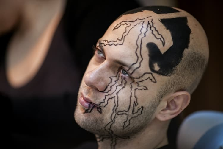 Face Tattoo Designs For Good