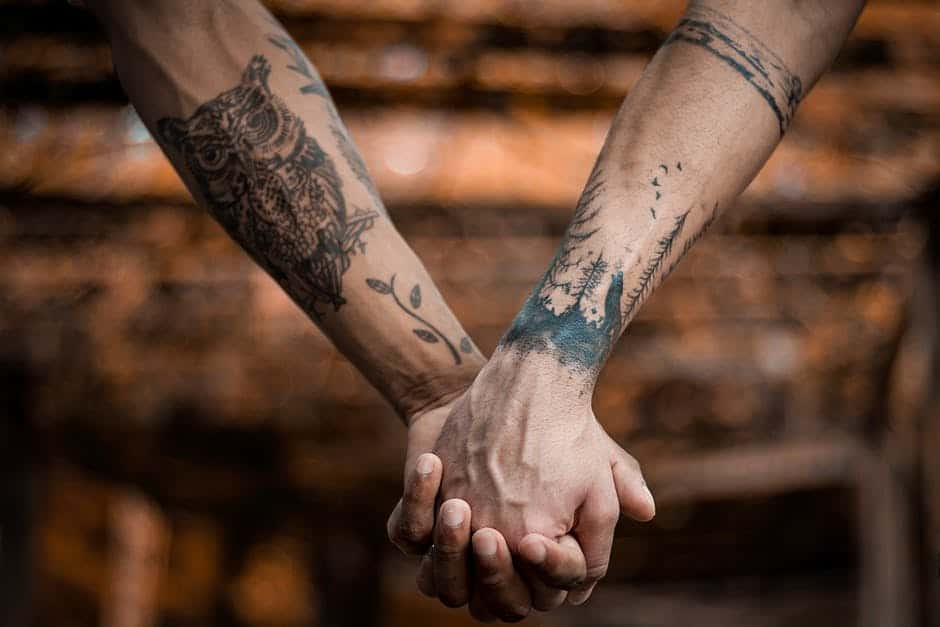 Example of tattoo ideas for couples